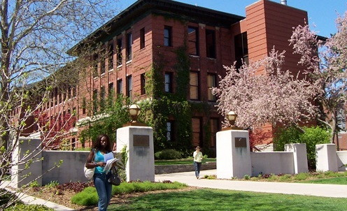 ISU's Moulton Hall--Home of the ISU Physics Department since 1978